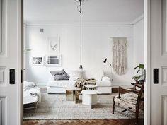 Impresionante apartamento sueco en colores neutros