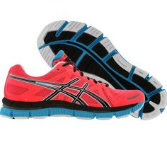 Asics Womens Gel-Neo 33 (electric coral / black / neon blue) T272N-3190 - $104.99
