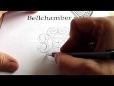 How to Draw Celtic Patterns 95 - Spiral Celtic Cross/Mandala 3of8