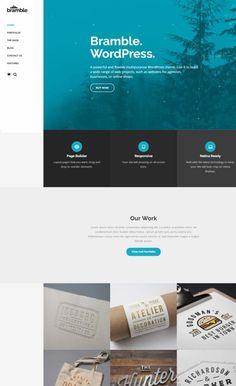 ThemeTrust Bramble : Business Portfolio WordPress Theme http://www.wordpressthemereviewdesk.com/themetrust-bramble-review/ #WordPress