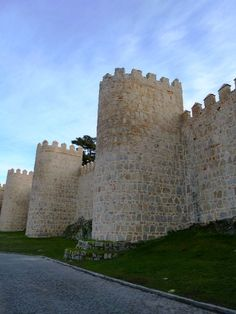 The Walls of Avila, Spain