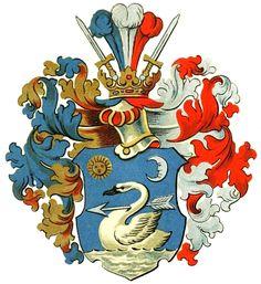 Beniczky family coat of arms. More coats of arms: http://www.universalcompendium.com/gen_images/ucg/1heraldry/1heraldry.htm