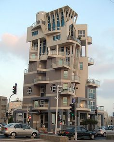 In only twenty minutes, I saw a half-dozen examples of fantastic architecture. This building won first prize. Unusual Buildings, Interesting Buildings, Amazing Buildings, Modern Architecture Design, Islamic Architecture, Beautiful Architecture, Building Architecture, Futuristic Architecture, Buying A Condo