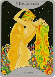 The Lovers -Starmaiden's Tarot