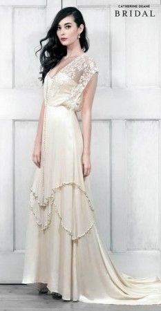 The Catherine Deane online destination. Delivering exceptionally crafted ready-to-wear and bridal dresses that bring joy and beauty to our customers. Boho Chic Wedding Dress, Wedding Bridesmaid Dresses, Bridal Dresses, Wedding Gowns, Wedding Shot, Wedding Dj, Perfect Wedding, Evening Dresses For Weddings, Lace Weddings