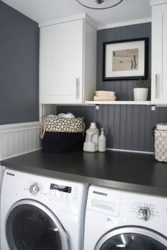 16 Laundry Room Pint Colors - #2 Rock Gray