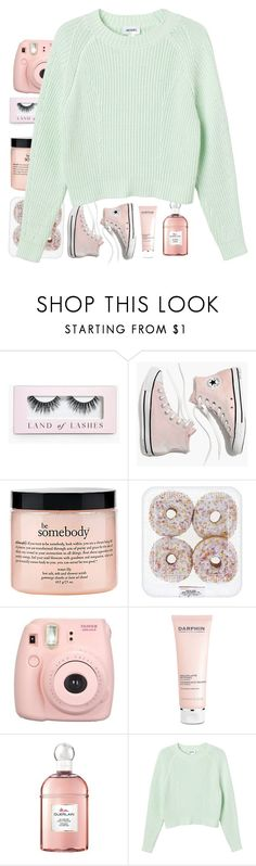 """""""I know some people who know some people"""" by somnambulism ❤ liked on Polyvore featuring Boohoo, Madewell, philosophy, Fujifilm, Darphin, Guerlain and Monki"""
