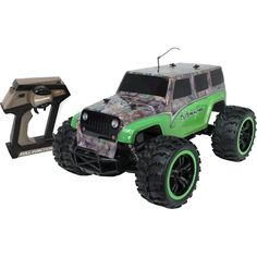 Nkok - Ready To Run RealTree® RC Jeep Wrangler Unlimited - Green Camo
