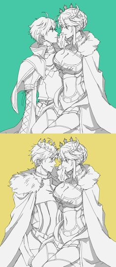 FGO Arthur and lancer Arthuria felt like i wanna ship em