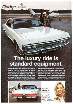 Dodge Monaco Luxury Car 1970