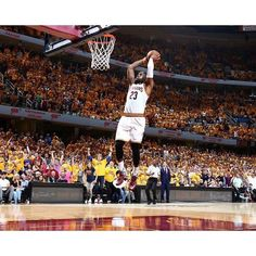 Home sweet home. The Cavs stay perfect at home during the postseason and beat the Raptors 116-78. The Big 3 combined for 71 points in less than 3 full quarters. LeBron has now scored 20 or more points in 23 straight playoff games finishing with 23 points 6 rebounds and 8 assists. FREE Wristbands! Click link in bio! #dhtk #REPRE23NT #donthatetheking