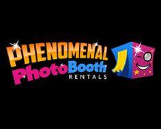 Phenomenal Photo Booth Rentals at https://www.logoarena.com - logo by LCG
