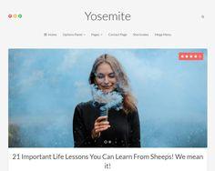 Yosemite Responsive WordPress Theme