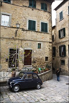 Italy, Tuscany, Cortona by daviDRombaut, via Flickr
