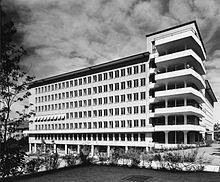 Otto Brechbühl, 1940-1955 | IttenBrechbühl Planners, Architects, Skyscraper, Multi Story Building, History, Things To Do, Skyscrapers, Historia, Building Homes