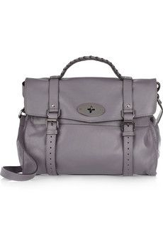 Mulberry Oversized Alexa leather satchel | THE OUTNET