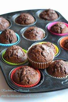 kuchnia na obcasach: Muffinki kakaowe