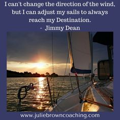 Julie Brown @joolie17  5s 5 seconds ago     More Wise words!  #lifebydesign  #jimmydean  http://www.juliebrowncoaching.com