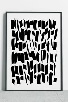 Calligraphy Art, Brush Strokes Print, Black Lines Art, Calligraphy Brush Abstract Art, Calligraphy Lines Poster #fluorama#fluoramaart#prints#abstractart#abstractprint#calligraphy#minimalism#posters#minimalistart#blackandwhiteart#blackandwhite#monochrome
