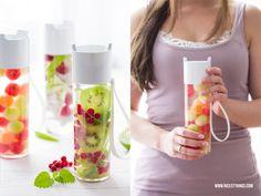 Nicest Things - Food, Interior, DIY: 3 Rezepte für Fruit Infused Water, das wirklich schmeckt