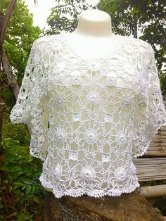 Crochet Shirt Free Crochet Crochet Top Step By Step Instructions Snowflakes Clothing Patterns Crochet Clothes Tatting Lace Tops Crochet Girls Dress Pattern, Crochet Basket Pattern, Crochet Tunic, Crochet Clothes, Crochet Lace, Crochet Motifs, Crochet Patterns, Crochet Designs, Glitter