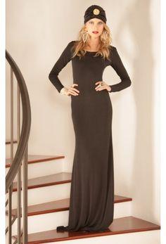Shop Ruby Dress in Black Venezia. #RamonaLaRue #Boutique #Miami #BohemianSyle #ShopMiami #Designer #MadeInMiami #Clothing #WomensWear #Dress #Black #Venezia #Fashion