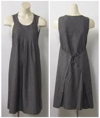 i'd like an apron dress like this for wearing around the house. needs BIG pockets