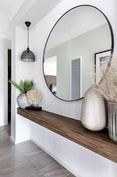 Interior Design Living Room, Living Room Designs, Living Room Decor, Bedroom Decor, Flur Design, Home Entrance Decor, Hallway Designs, Hallway Ideas, Cheap Home Decor