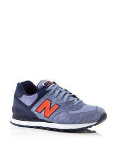 New Balance 574 Sweatshirt Lace Up Sneakers | Bloomingdale's