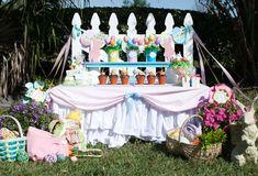 Preppy Bunny Party   CatchMyParty.com