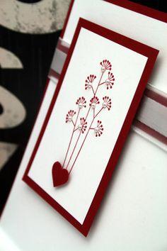 Papyrus hearts - Valentine 2013 (interior detail)