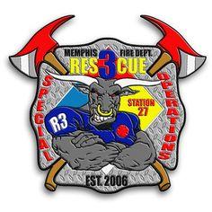 Memphis Fire Department patch #Setcom