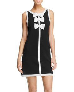 Boutique Moschino Bow Knit Dress
