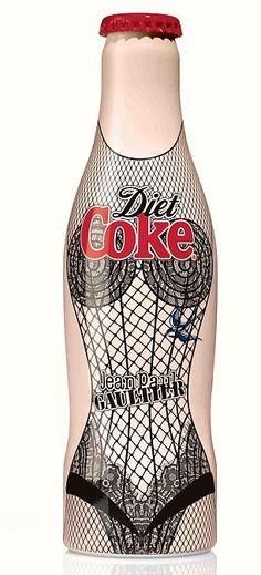 Jean Paul Gaultier Coke bottle design