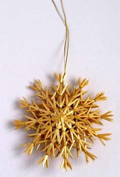 "Scandinavianshoppe.com - Straw Snowflake Ornament - 8"", $7.99 (https://scandinavianshoppe.com/products/straw-snowflake-ornament-8.html)"