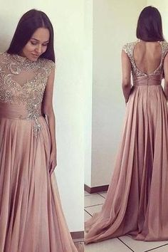 Beautiful Prom Dress, prom dresses long chiffon prom dresses long formal gowns for teens elegant prom dresses beaded women formal gowns long sexy party dresses cap sleeves prom dresses open back evening dress Meet Dresses Open Back Prom Dresses, Party Dresses Online, Elegant Prom Dresses, Backless Prom Dresses, Prom Dresses For Sale, Prom Dresses With Sleeves, Cheap Dresses, Evening Dresses, Dress Prom