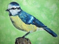 Afbeeldingsresultaat voor vogels schilderen met acrylverf