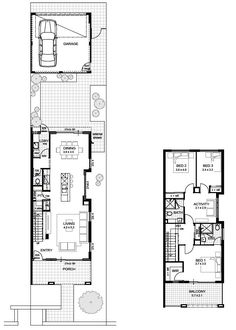 1000 ideas about double storey house plans on pinterest for 3 bathroom house plans perth