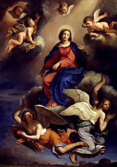 https://flic.kr/p/rT2w77 | Assumption of the Virgin | 1650. Oil on canvas. 339,1 x 252,1 x 10,2 cm. Detroit Institute of Arts, Detroit. 71.1.