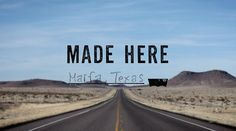 Colt  Miller and Logan Caldbeck of Corbra Rock Boot Company show us how they make their beautiful and unique South Highland leather boots out of thier shop in the small West Texas desert town of Marfa.