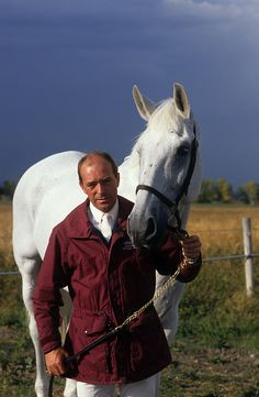 John Whitaker and Milton, legends in showjumping. My favourite British rider, John rode two of my all-time favourite equine heroes, Milton and Ryan's Son.