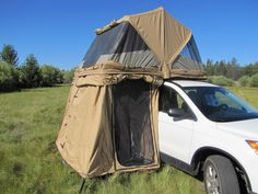 Galleries by Vehicle | Cascadia Vehicle Roof Top Tents  Adds room to the minivan