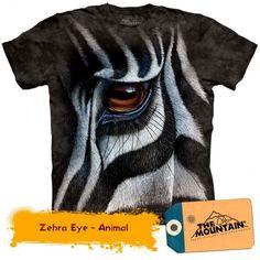 The Mountain Zebra Eye Adult T-Shirt Cotton--Clearance 3d T Shirts, Kids Shirts, T Shirts For Women, Jamberry, Mountain Zebra, Big Face, Tye Dye, Classic T Shirts, Graphic Tees