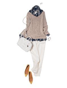 2015/05/26:365日コーディネート | Oggi.TV Japan Fashion, Fashion 2018, Daily Fashion, Mature Fashion, Fashion For Women Over 40, Fall Outfits, Casual Outfits, Fashion Outfits, Womens Fashion