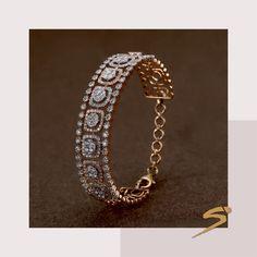 A bride's scintillating wish. - A bride's scintillating wish. Black Diamond Earrings, Diamond Bracelets, Diamond Studs, Gold Bangles, Diamond Jewelry, Jewelry Bracelets, Silver Jewelry, Jewelry Case, Diamond Rings
