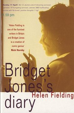 """""""Bridget Jones's Diary"""" by Helen Fielding (the first in the Bridget Jones series). Tipped in the article: """"5 books you should read in a big city - or if you want to dream yourself away"""" from the Danish Broadcasting Corporation."""