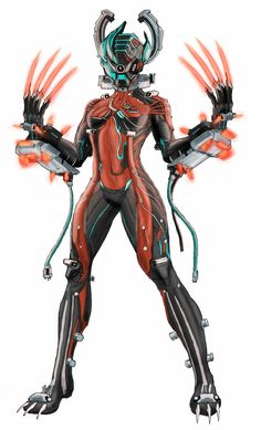 Warframe Valkyr by spaceMAXmarine on deviantART
