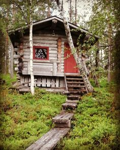 Kuusamo cottages sauna