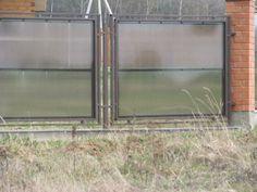 Забор из поликарбоната #1