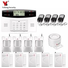 79.04$  Buy now - YobangSecurity Voice Prompt LCD Keyboard Wireless Wired Home Security System GSM Alarm System Door Window Gap Sensor Detector  #buyininternet